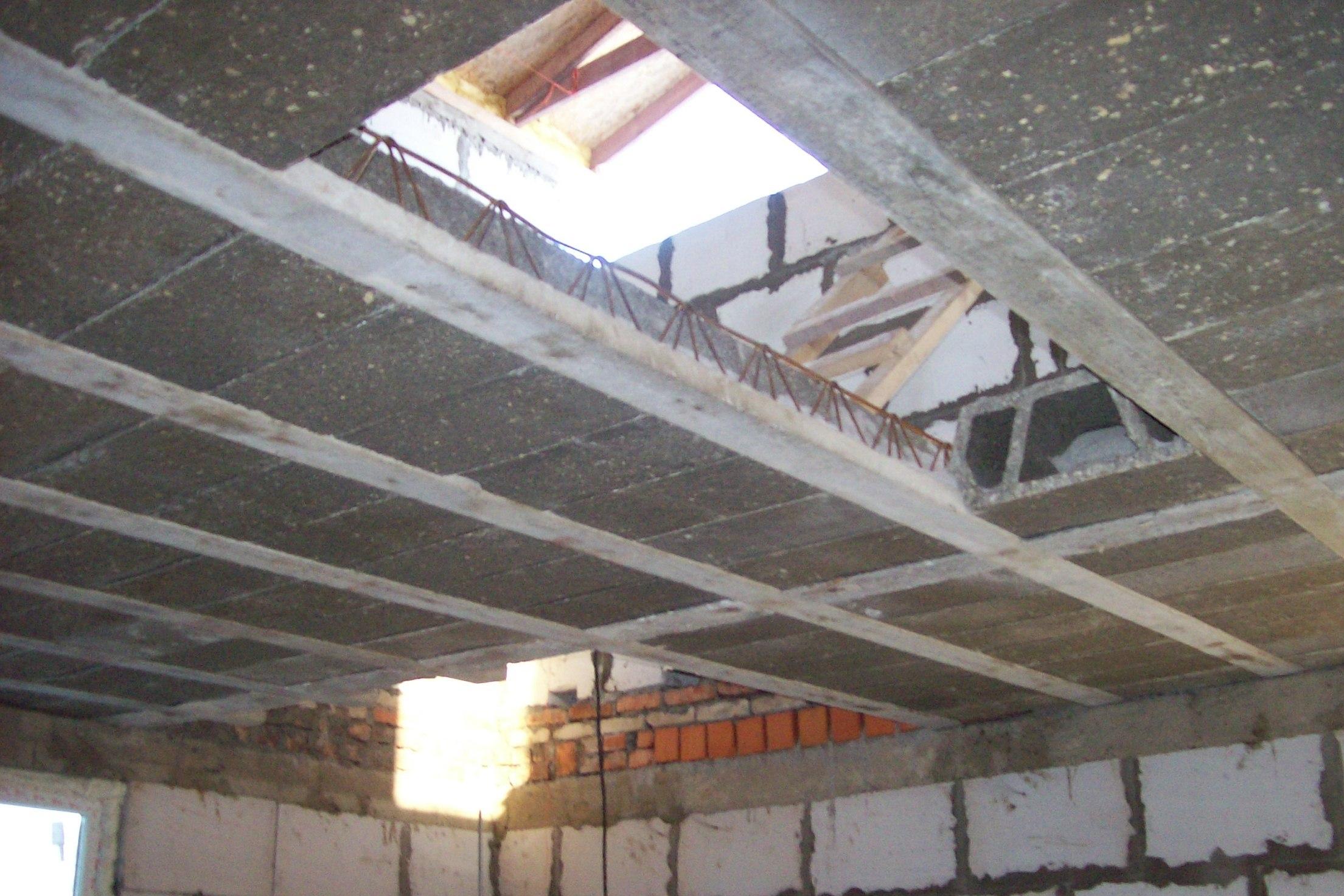 Как сделать монолитный потолок 28